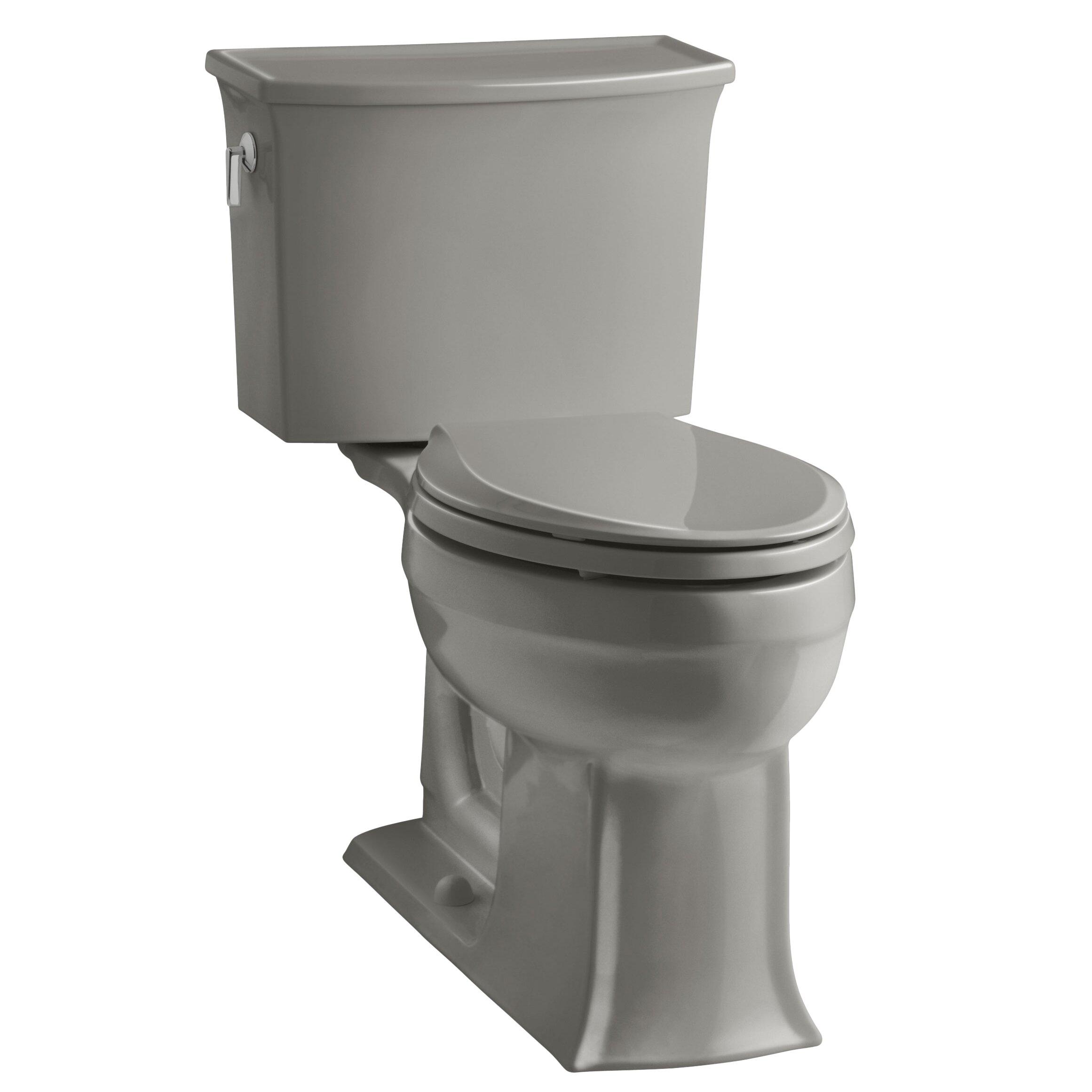 Kohler Archer 2 Piece Elongated Toilet With Aquapiston