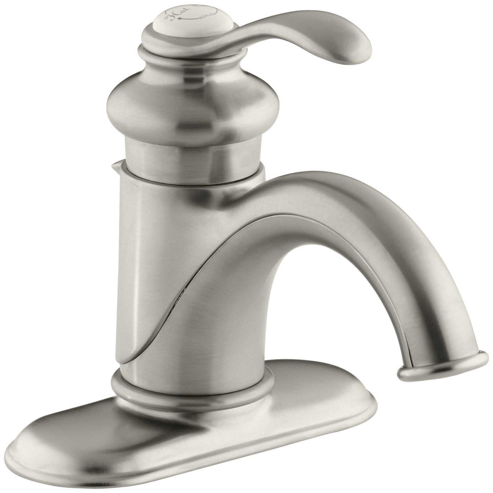 Kohler Bathroom Faucet Parts Bathroom Faucets Reviews: Kohler Fairfax Centerset Bathroom Sink Faucet With Single