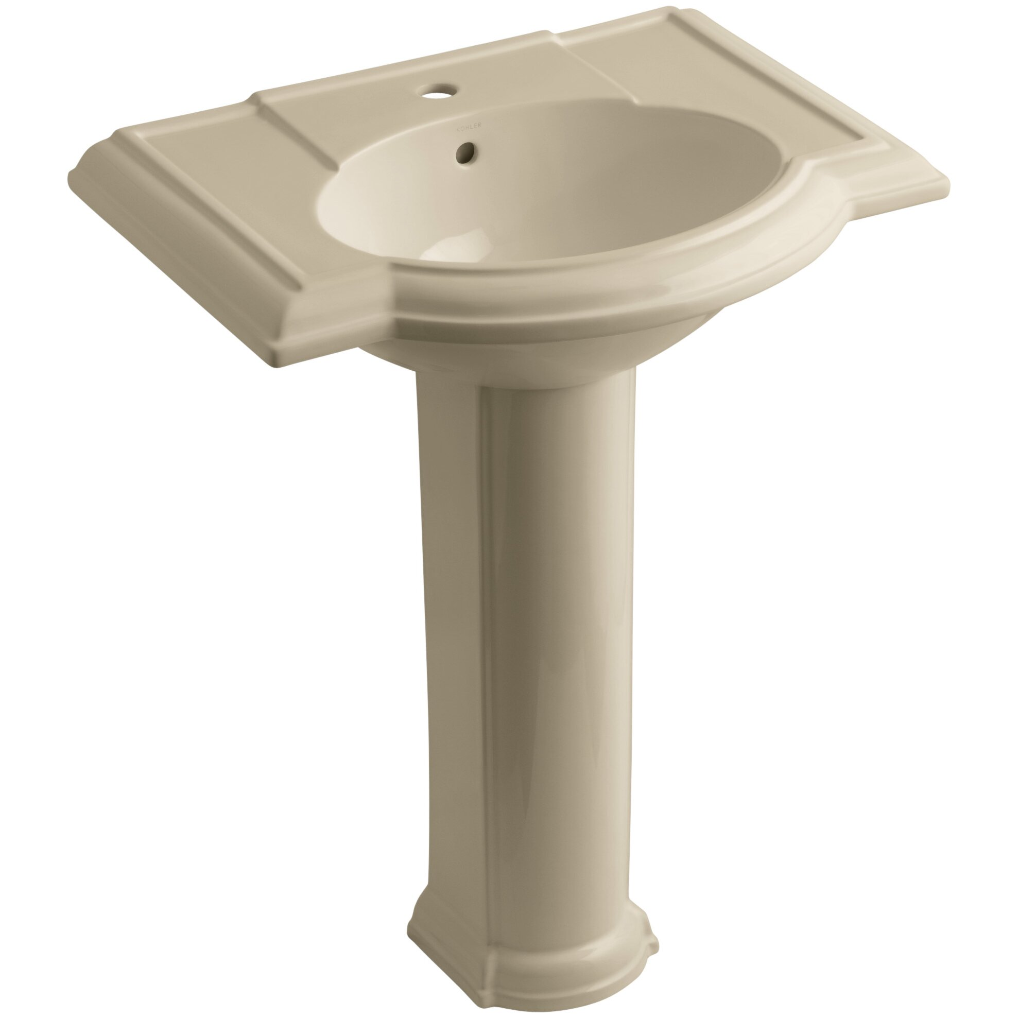 Devonshire Pedestal Sink : Kohler Devonshire 27