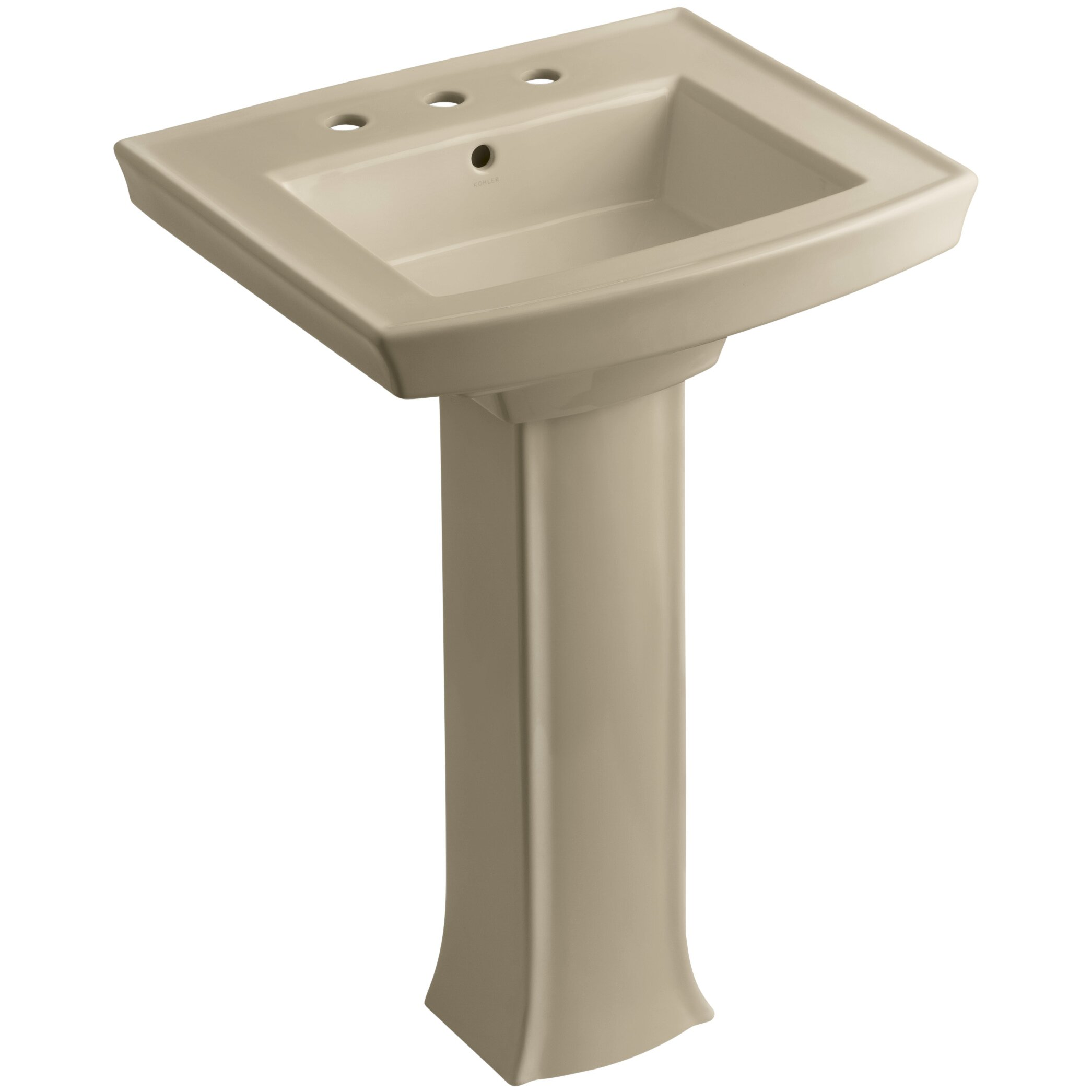 Kohler Kohler Archer Pedestal Sink & Reviews Wayfair