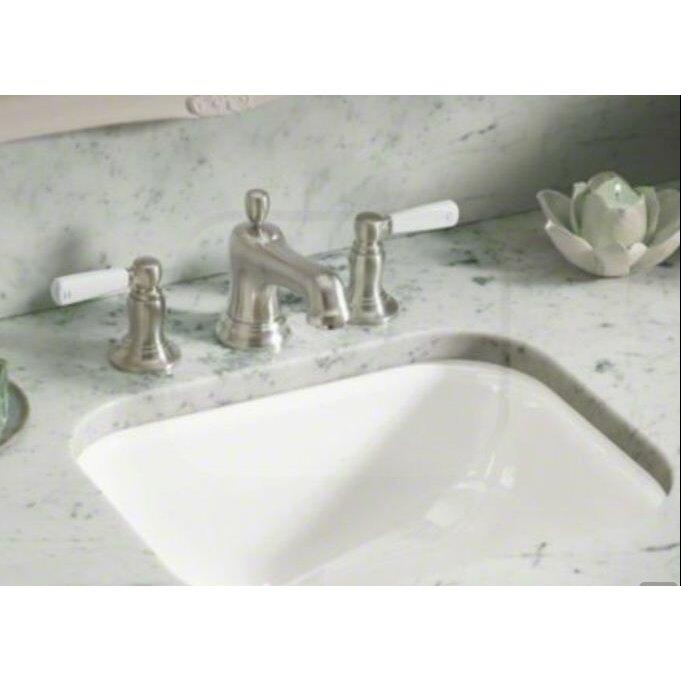 Kohler Tahoe Undermount Bathroom Sink with Oversize 8 ...