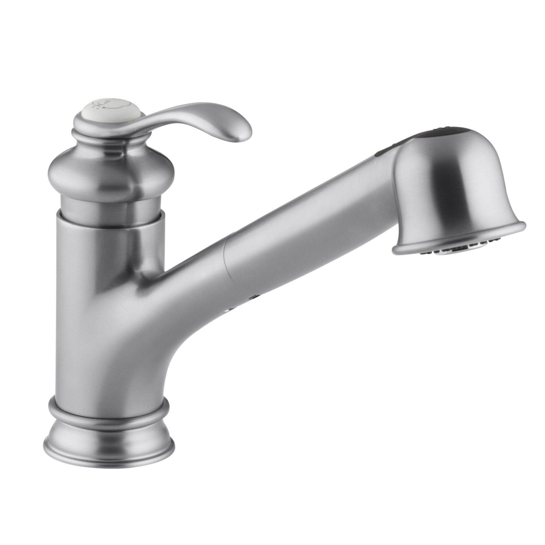 Kohler Fairfax Faucet Parts Kitchen Faucet Kitchen Faucet: Kohler Fairfax Single-Hole Or Three-Hole Kitchen Sink