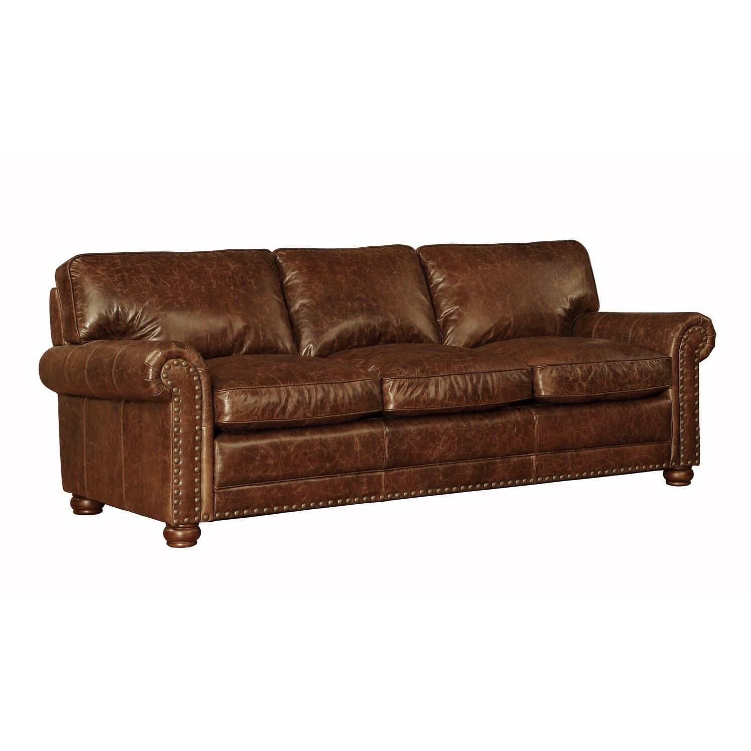 Reviews For Leather Sofas: Lazzaro Leather Genesis Leather Sofa & Reviews