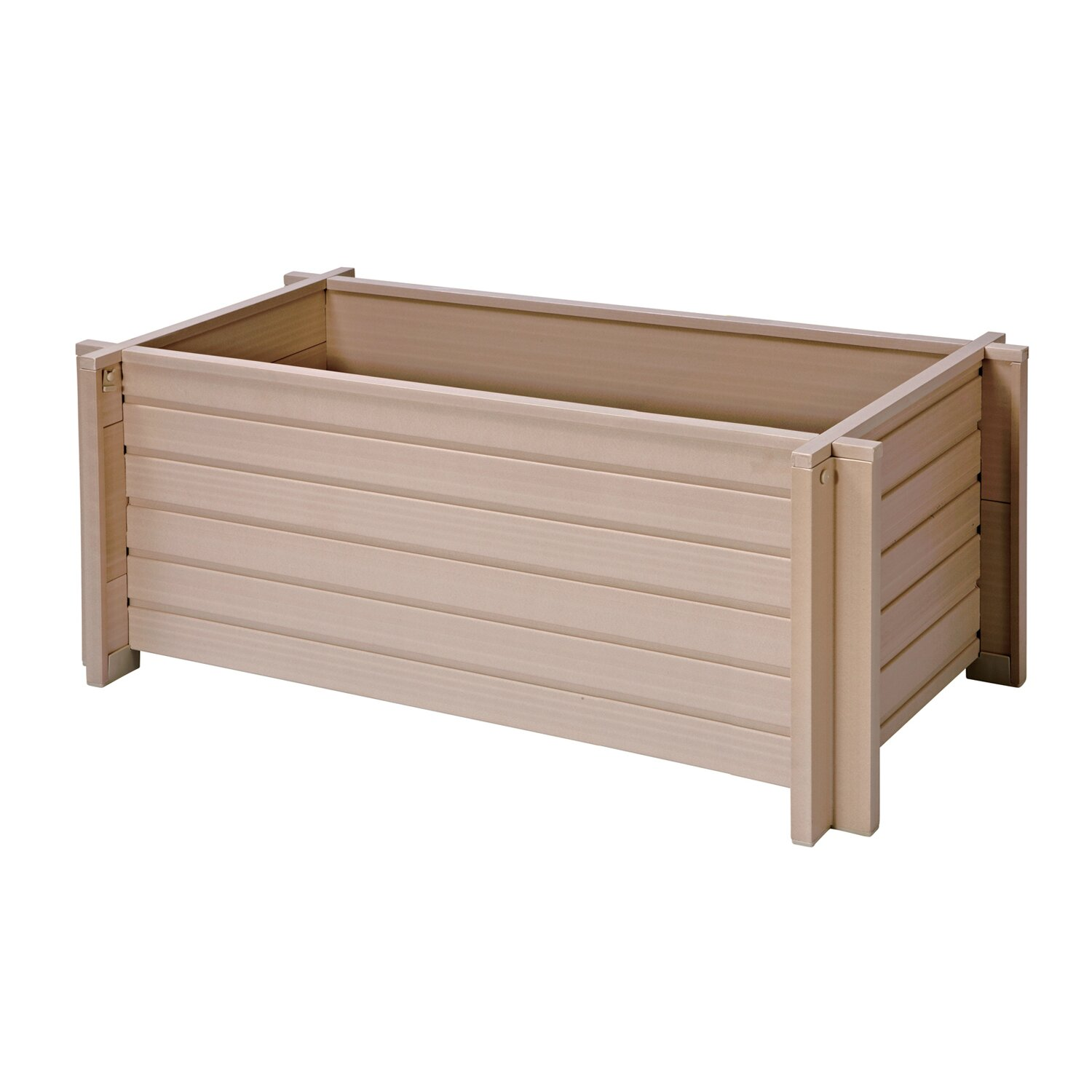 New age garden rectangular planter box reviews wayfair for Wayfair garden box