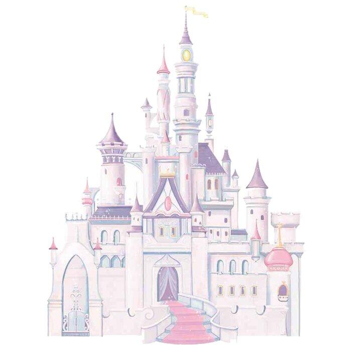 Room Mates Disney Princess Castle Wall Decal