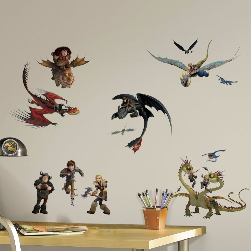 Room Mates How to Train Your Dragon 2 Wall Decal