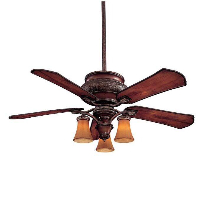 """Minka Aire 52"""" Craftsman 5 Blade Ceiling Fan & Reviews"""