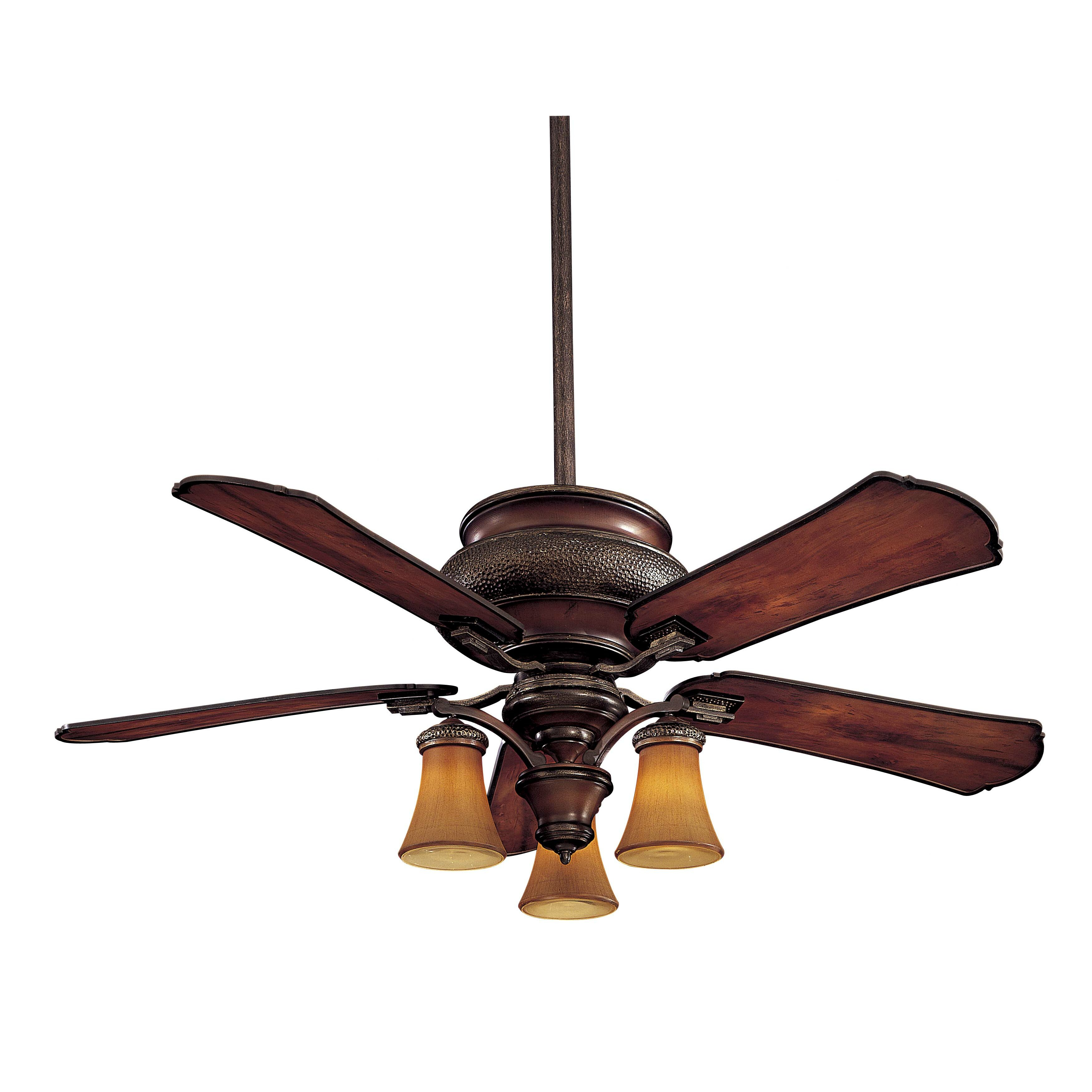"Minka Aire 52"" Craftsman 5 Blade Ceiling Fan & Reviews"