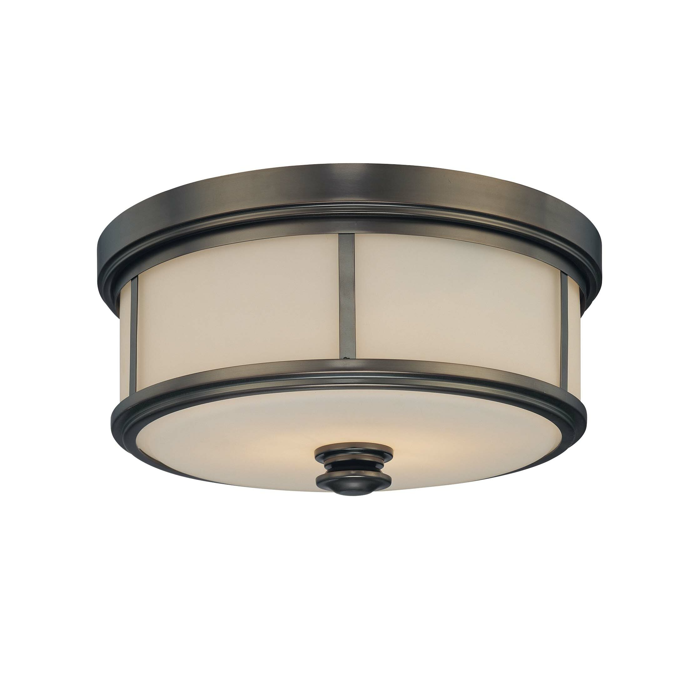 Minka Lavery Harvard 2 Light Court Flush Mount Amp Reviews