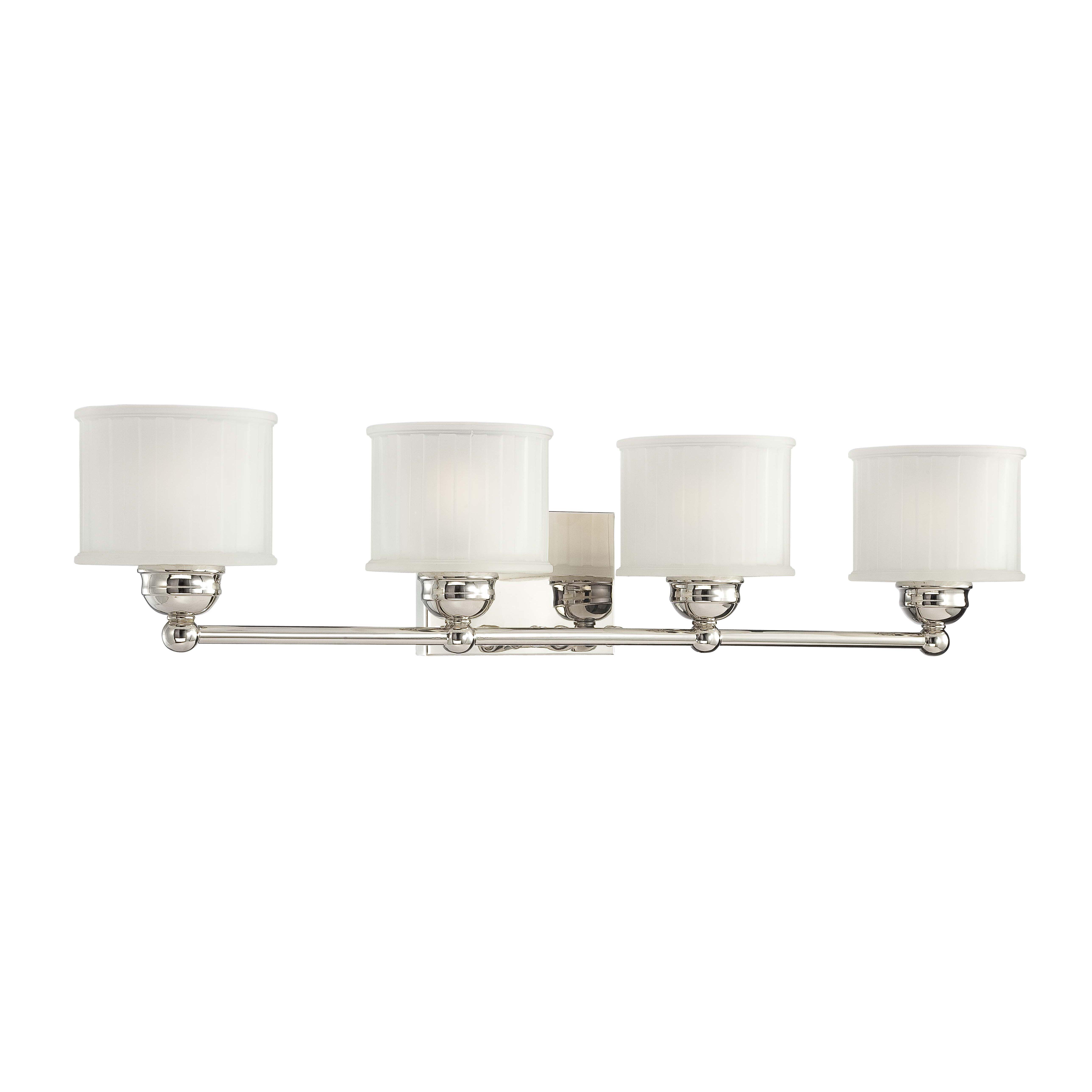 minka lavery 1730 series 4 light bath vanity light reviews wayfair. Black Bedroom Furniture Sets. Home Design Ideas