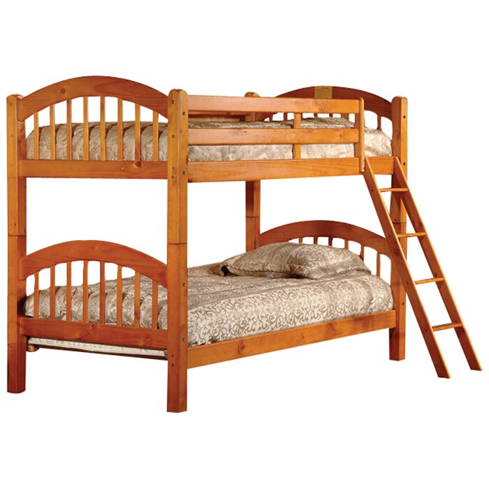 Cassidy Arched Twin Bunk Beds
