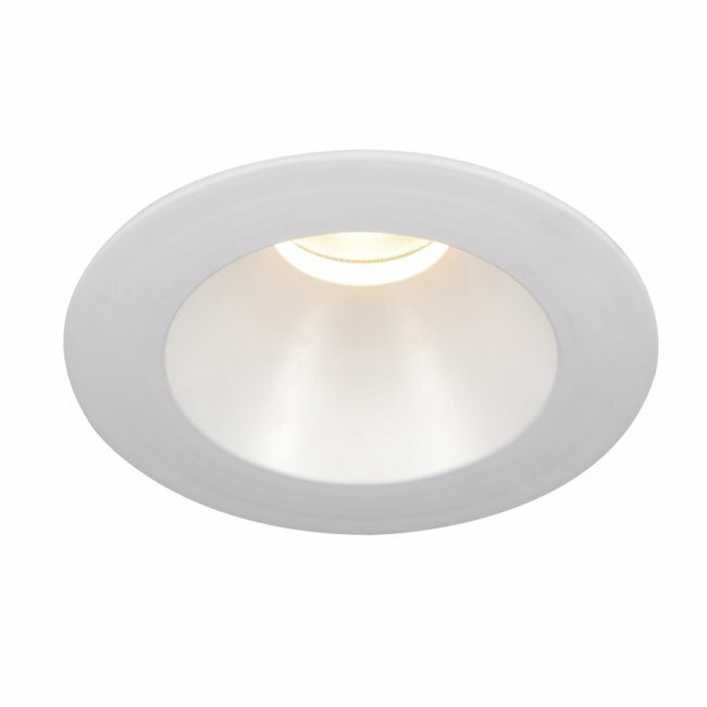 Led Recessed Lighting Beam Angle : Led downlight open round quot recessed trim with degree