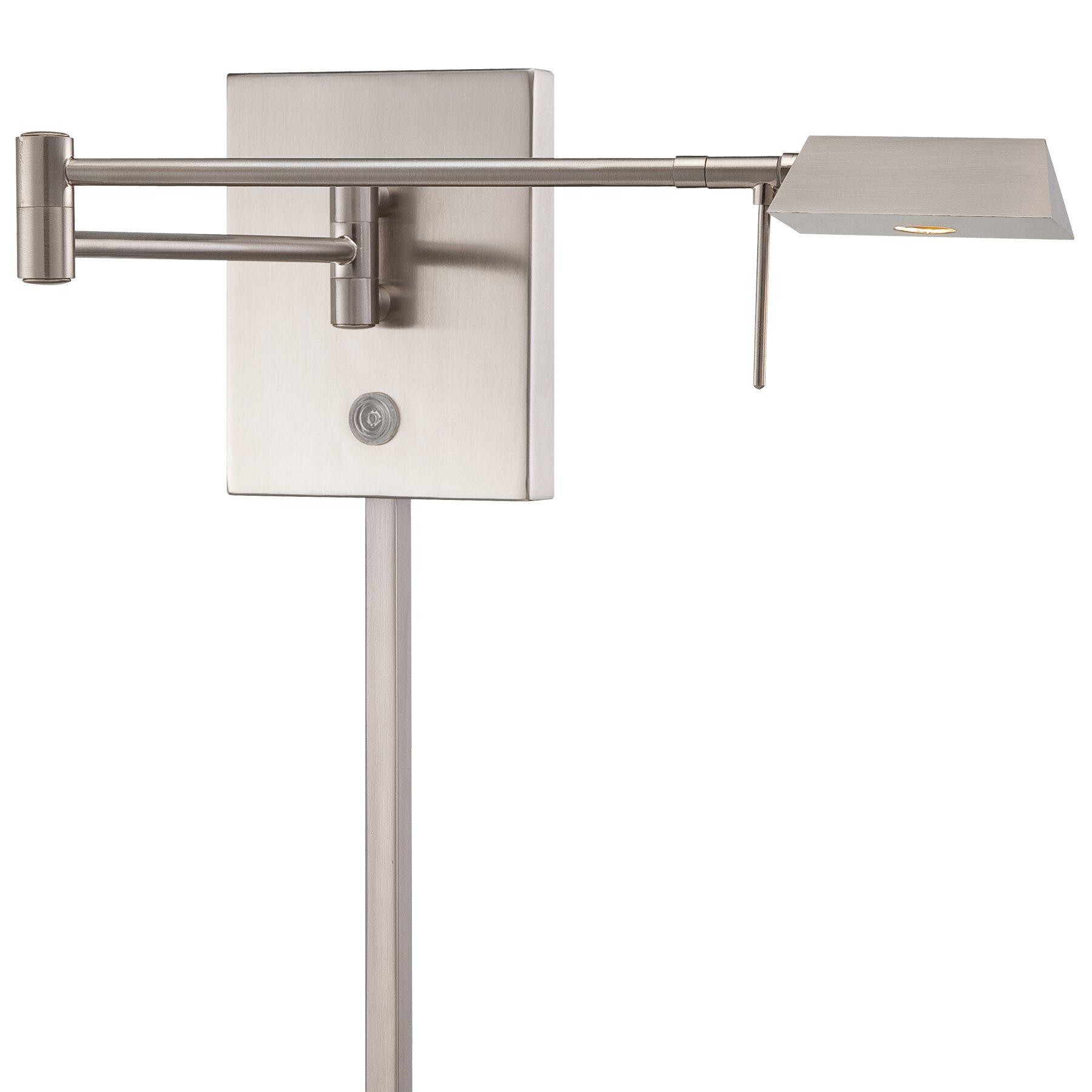 George Kovacs 1 Light LED Swing Arm Wall Lamp Reviews Wayfair