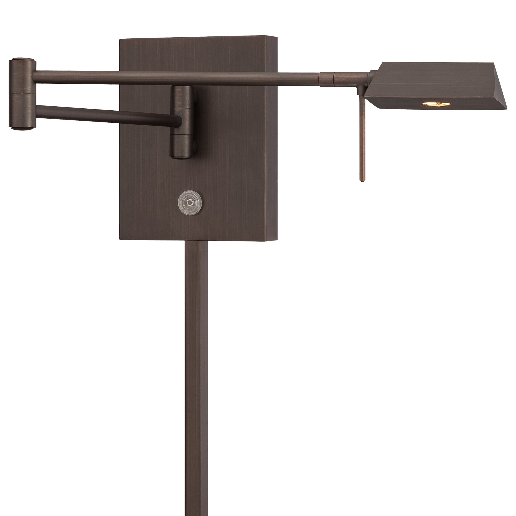 George Kovacs 1 Light LED Swing Arm Wall Lamp & Reviews ...