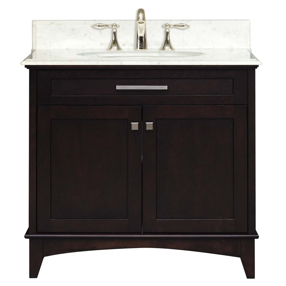 "Manhattan 30"" Single Bathroom Vanity Set 