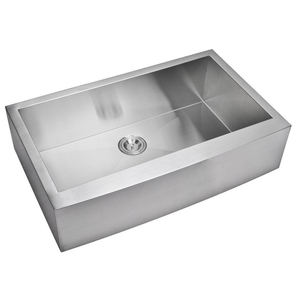 Kitchen Sink Suppliers : Water Creation Single Bowl Kitchen Sink & Reviews Wayfair Supply