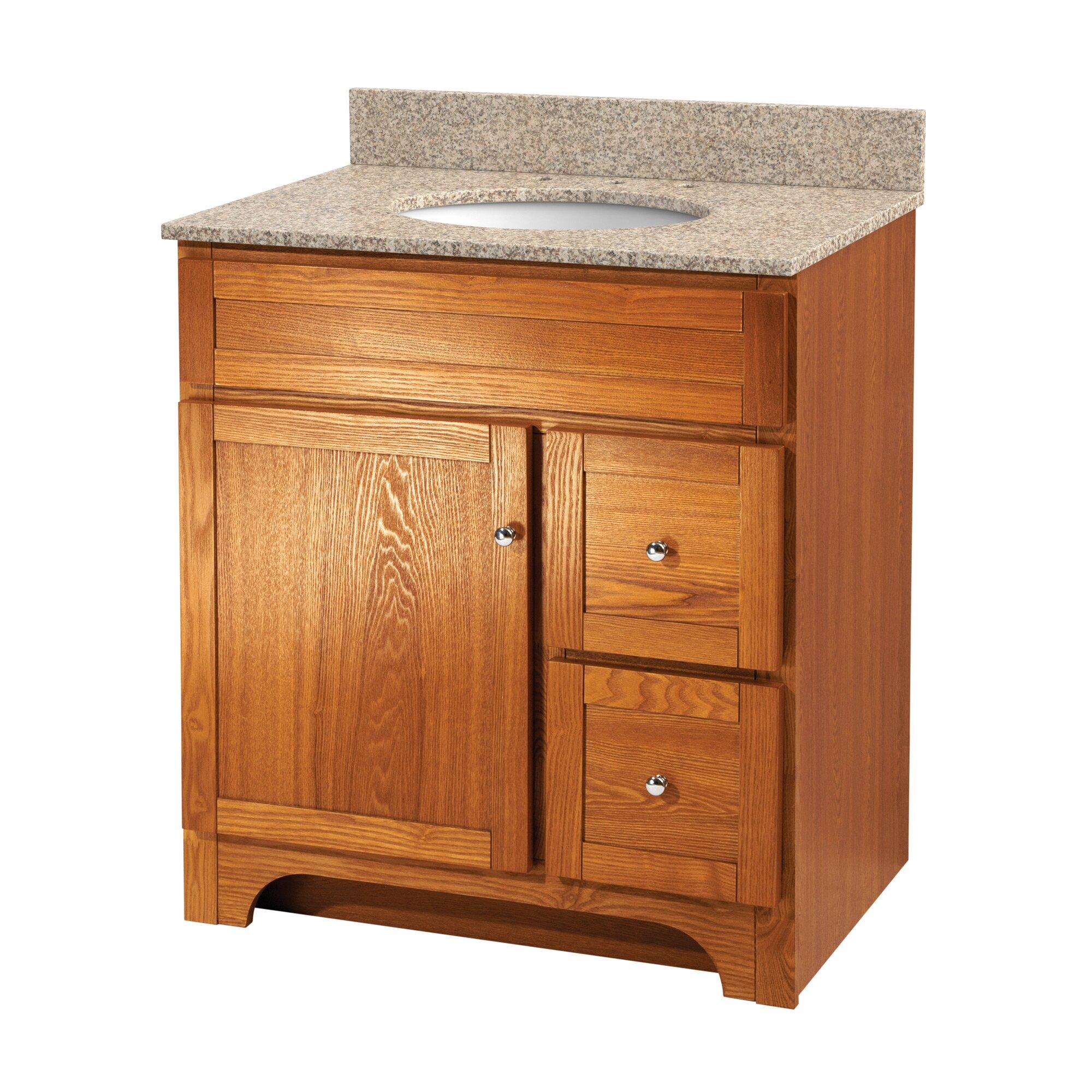 Worthington 31 single bathroom vanity set wayfair - Foremost bathroom vanity reviews ...