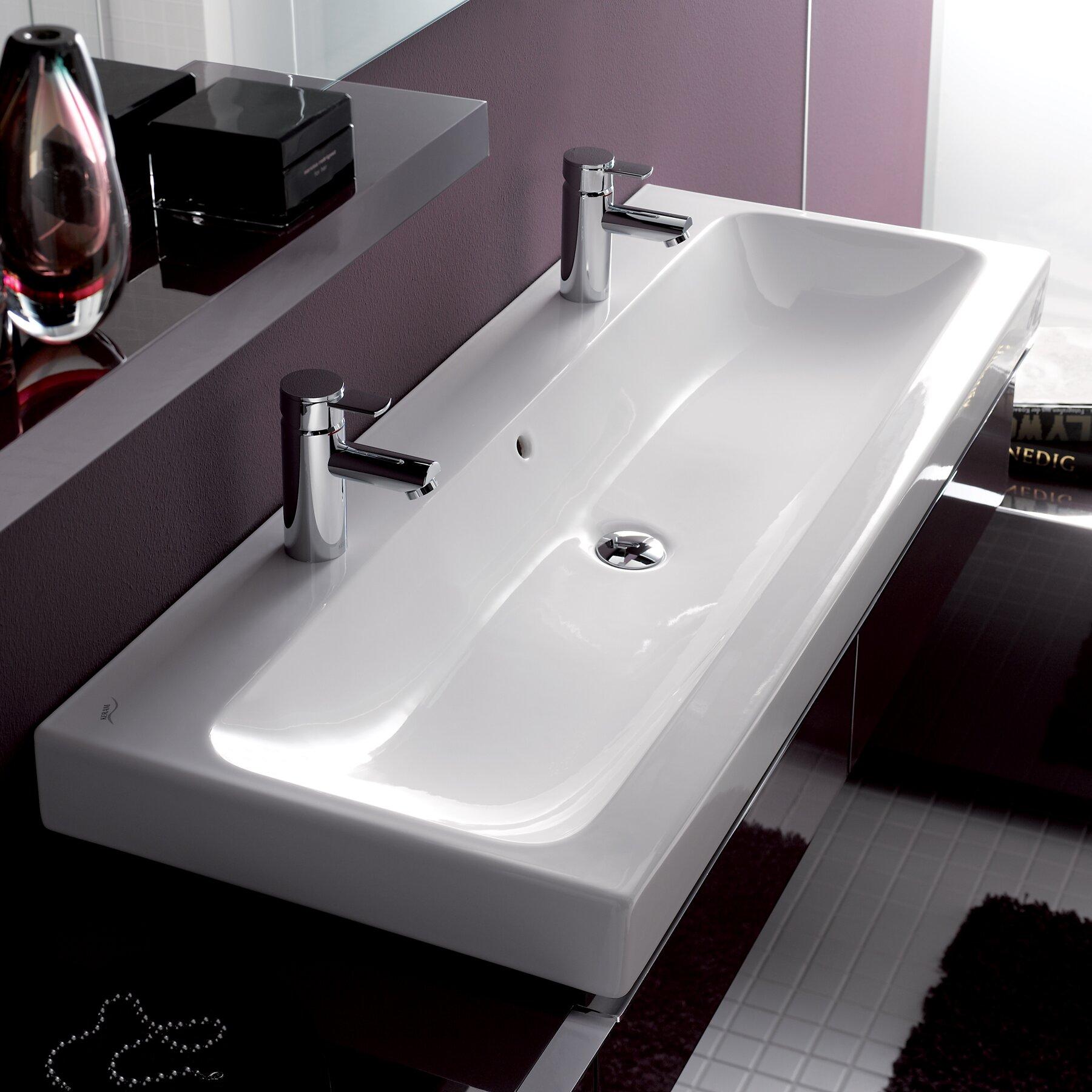 elements icon 120 bathroom sink wayfair. Black Bedroom Furniture Sets. Home Design Ideas