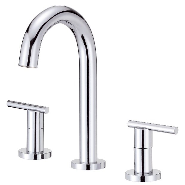 Danze parma double handle mini widespread bathroom faucet reviews wayfair for Danze bathroom faucets reviews