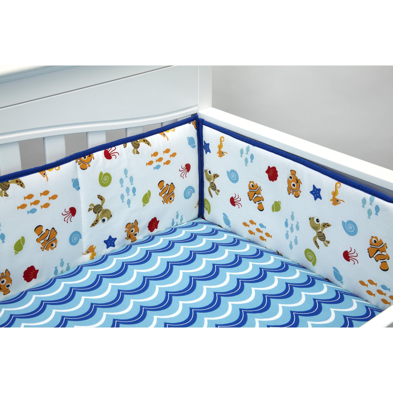 Nemo s reef 4 piece crib bedding set disney baby - Baby Kids Nursery Shop All Crib Bedding Pieces Disney Baby Sku Wallpaper Disney Baby Nemo S Reef 4 Piece Crib Bedding Set