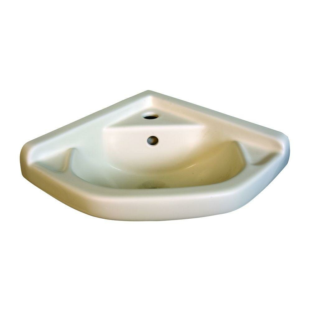 English Turn Corner Wall Mounted Bathroom Sink Wayfair