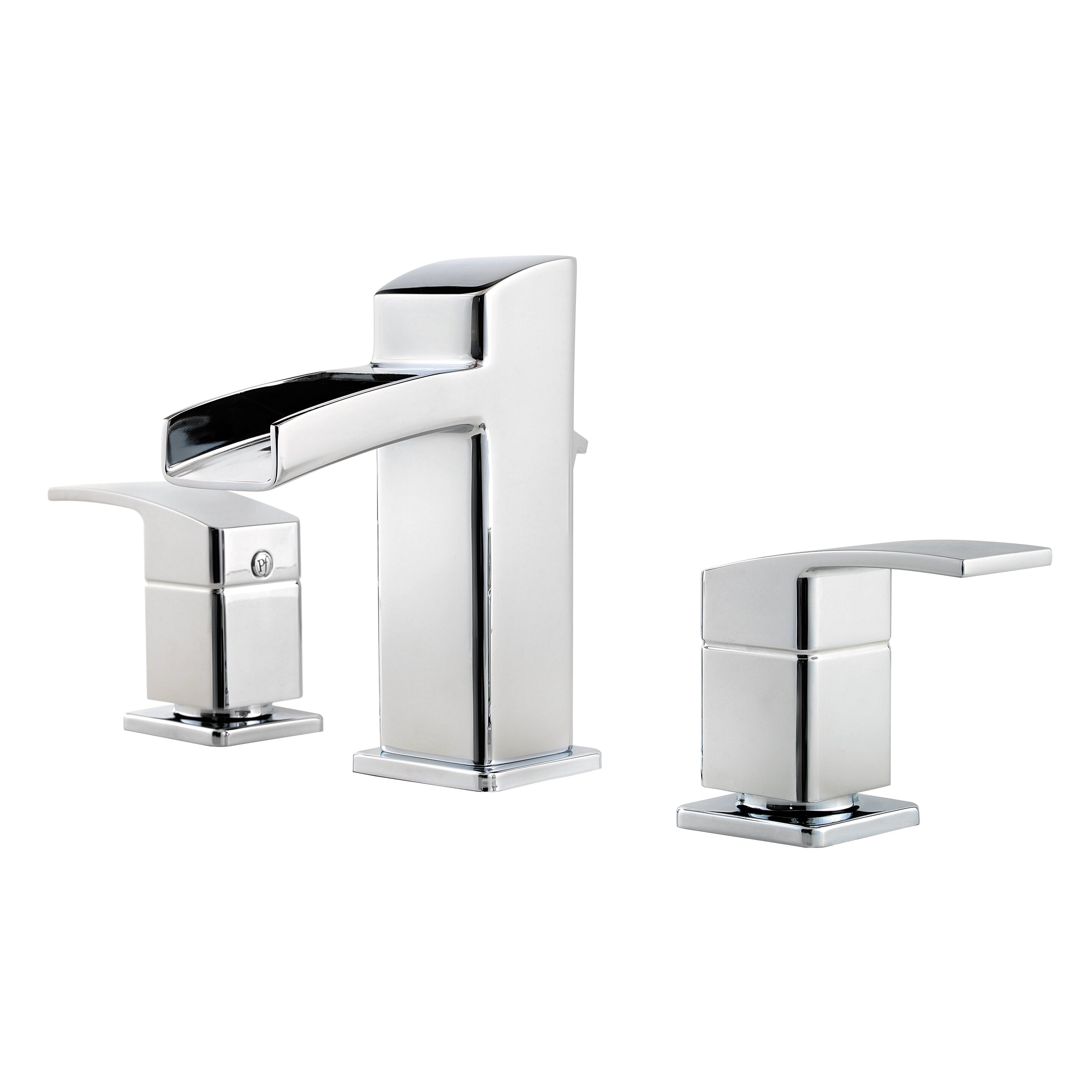 Widespread Waterfall Faucet : ... Kenzo Double Handle Widespread Waterfall Faucet & Reviews Wayfair