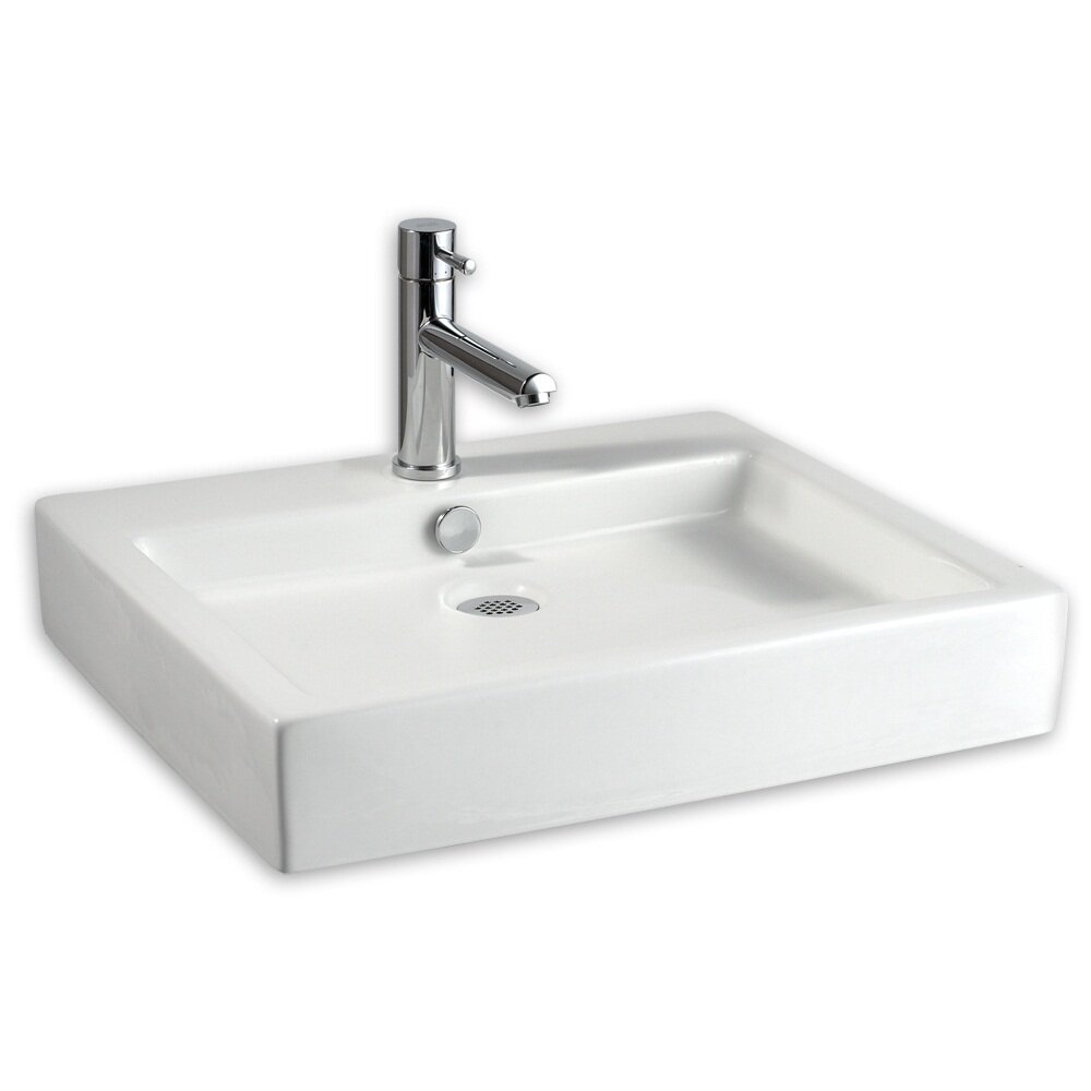 ... Studio Above Counter Rectangular Bathroom Sink & Reviews Wayfair
