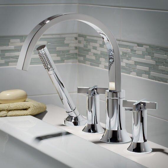 american standard berwick double handle deck mount tub