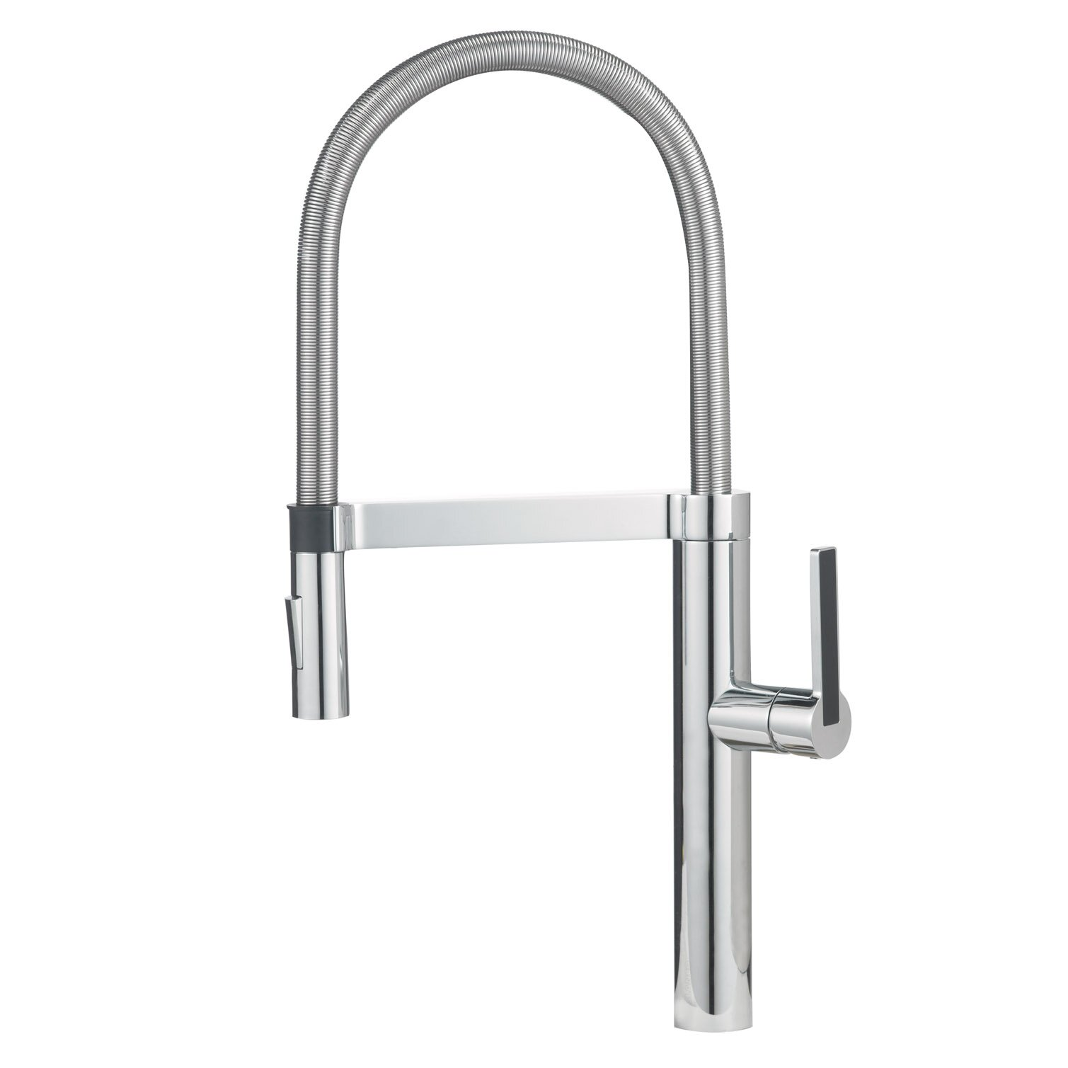 Blanco Kitchen Faucet Reviews : ... Single Handle Deck Mounted Kitchen Faucet with Dual Spray by Blanco