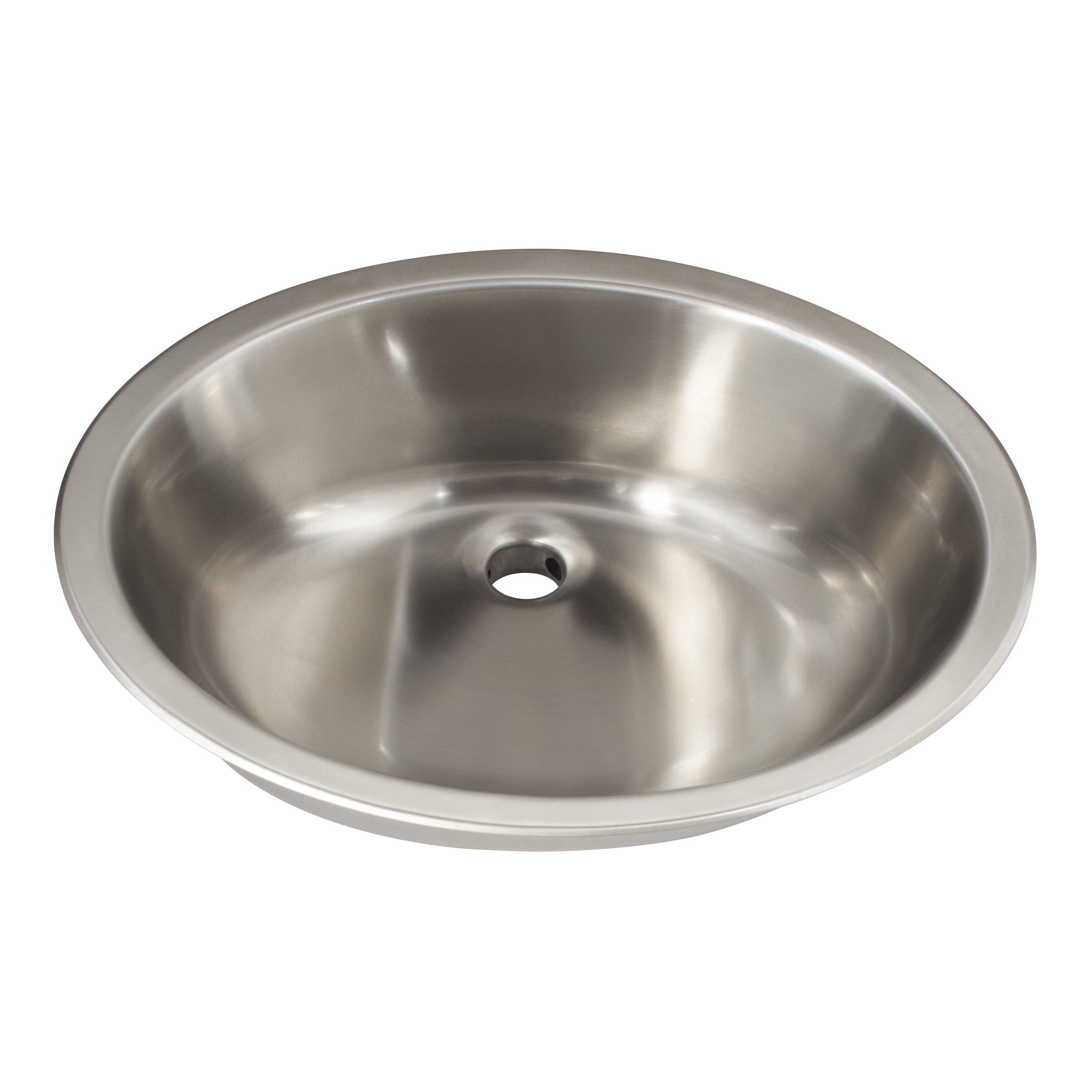 Single Bowl Vanity Bathroom Sink Wayfair Supply