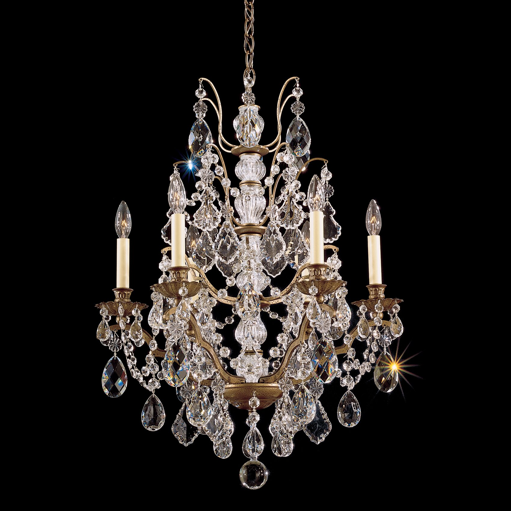 Wayfair Chandelier: Bordeaux 6 Light Chandelier