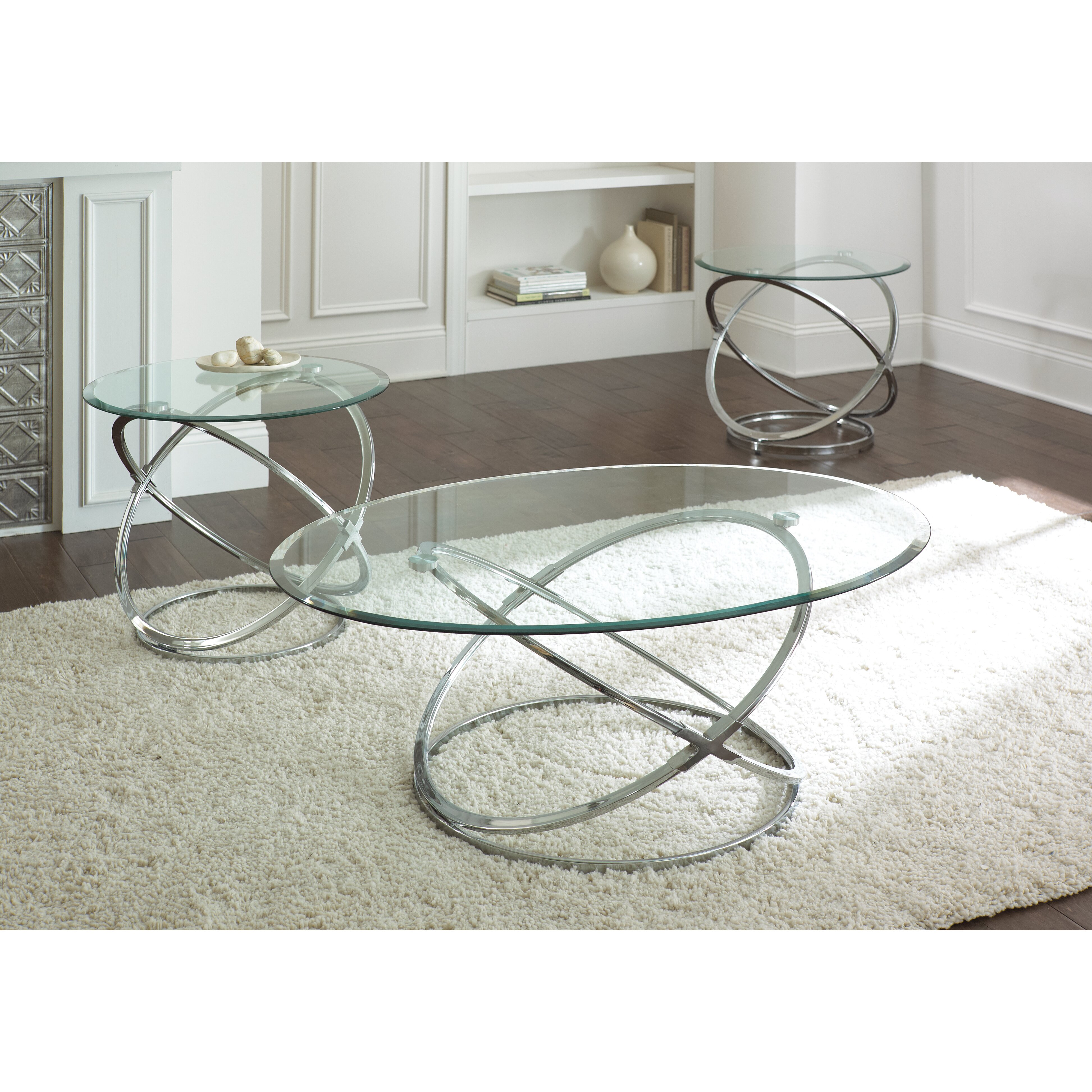Steve Silver Furniture Orion Coffee Table Set & Reviews