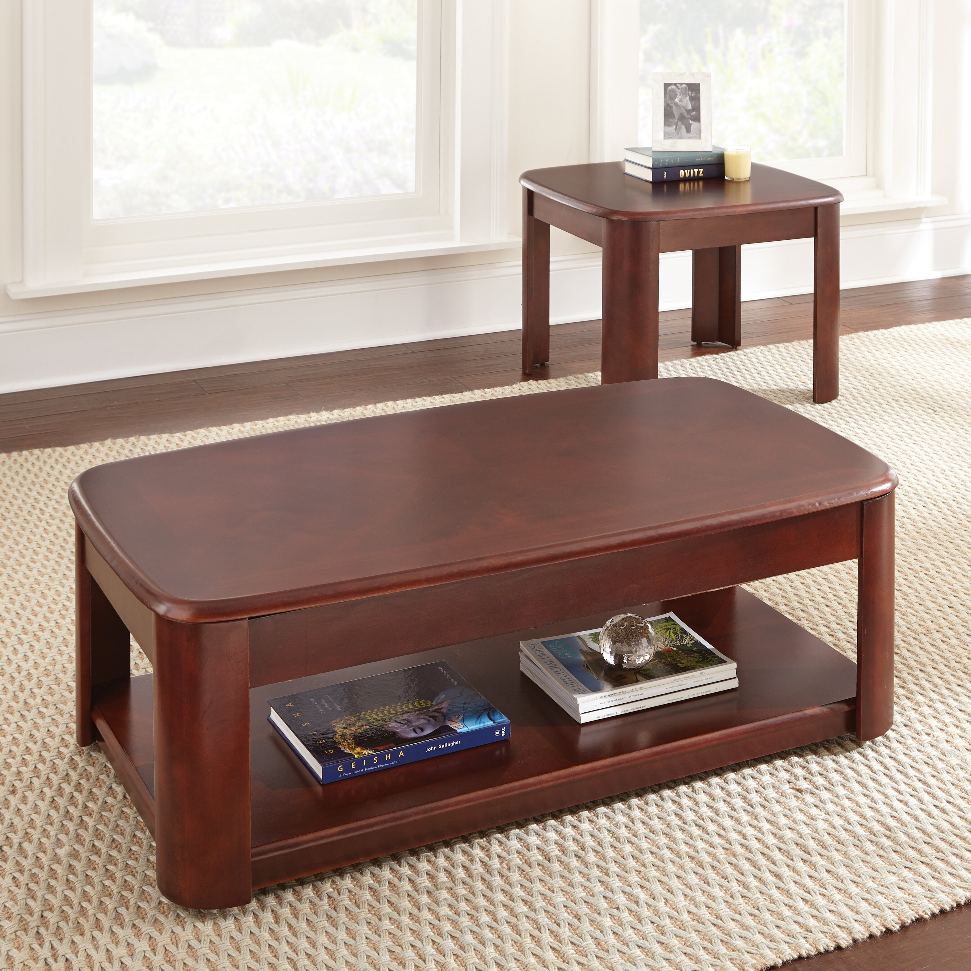 Steve Silver Furniture Lidya Coffee Table Set & Reviews  Wayfair