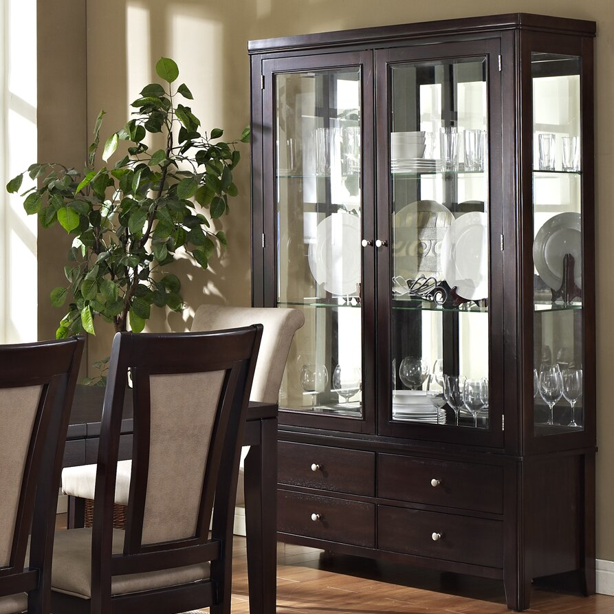 Steve Silver Furniture Wilson China Cabinet & Reviews ...