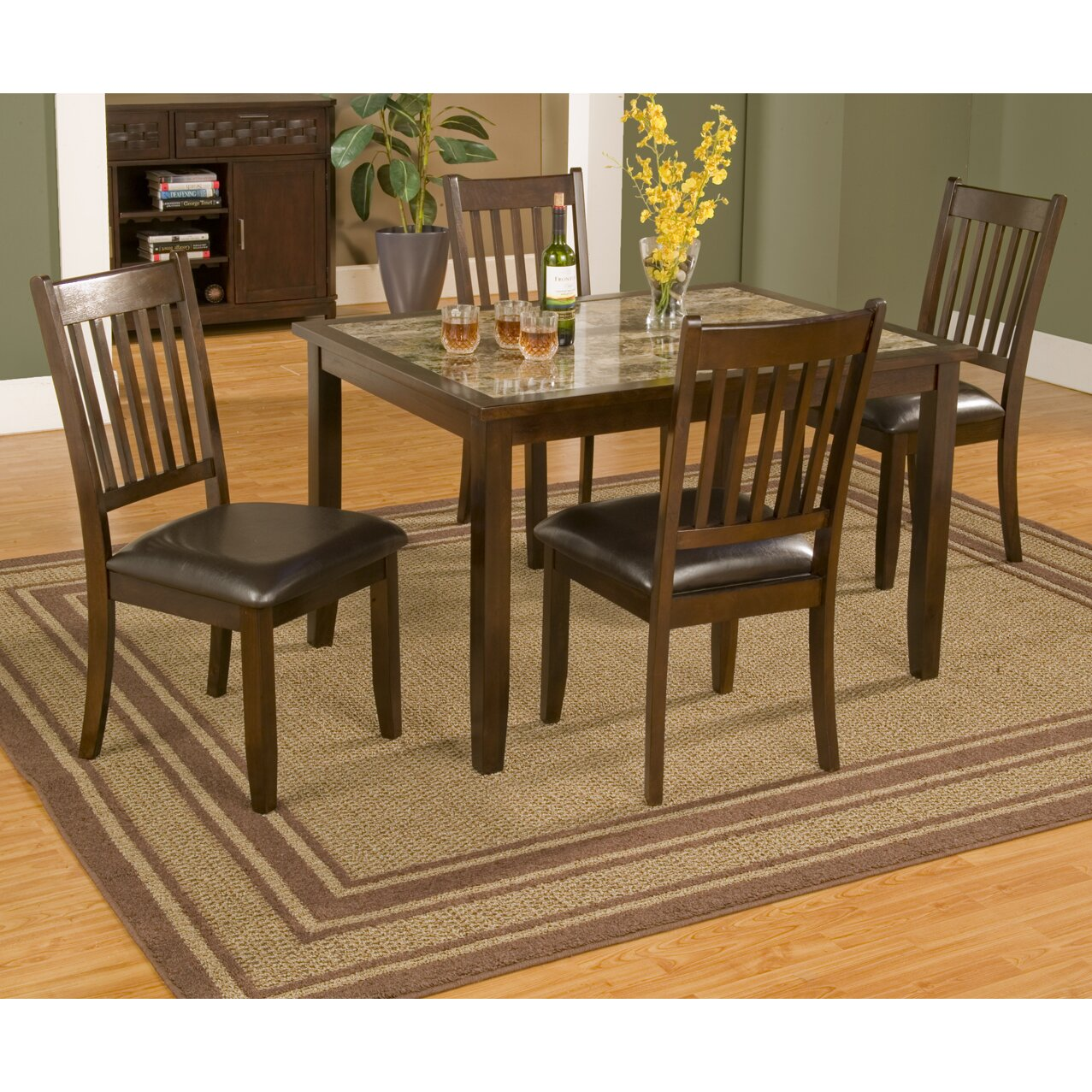 Alpine furniture capitola piece dining set reviews