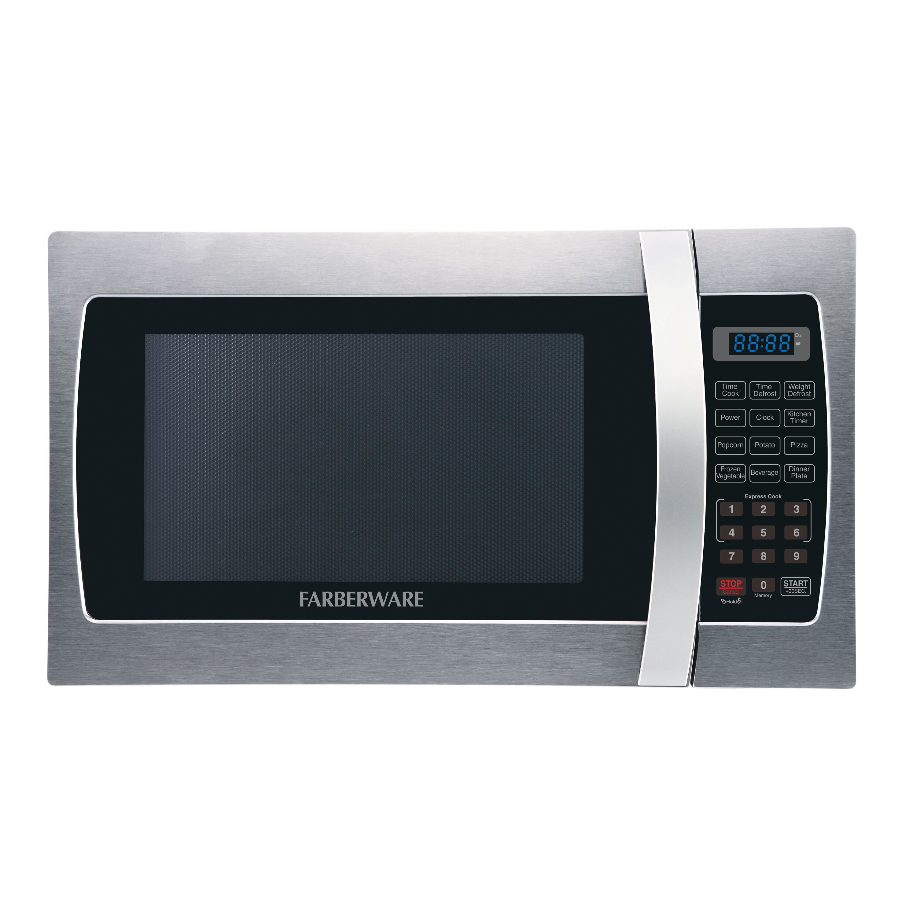 First Countertop Microwave : Professional 1.3 Cu. Ft. 1000W Countertop Microwave Oven by Farberware