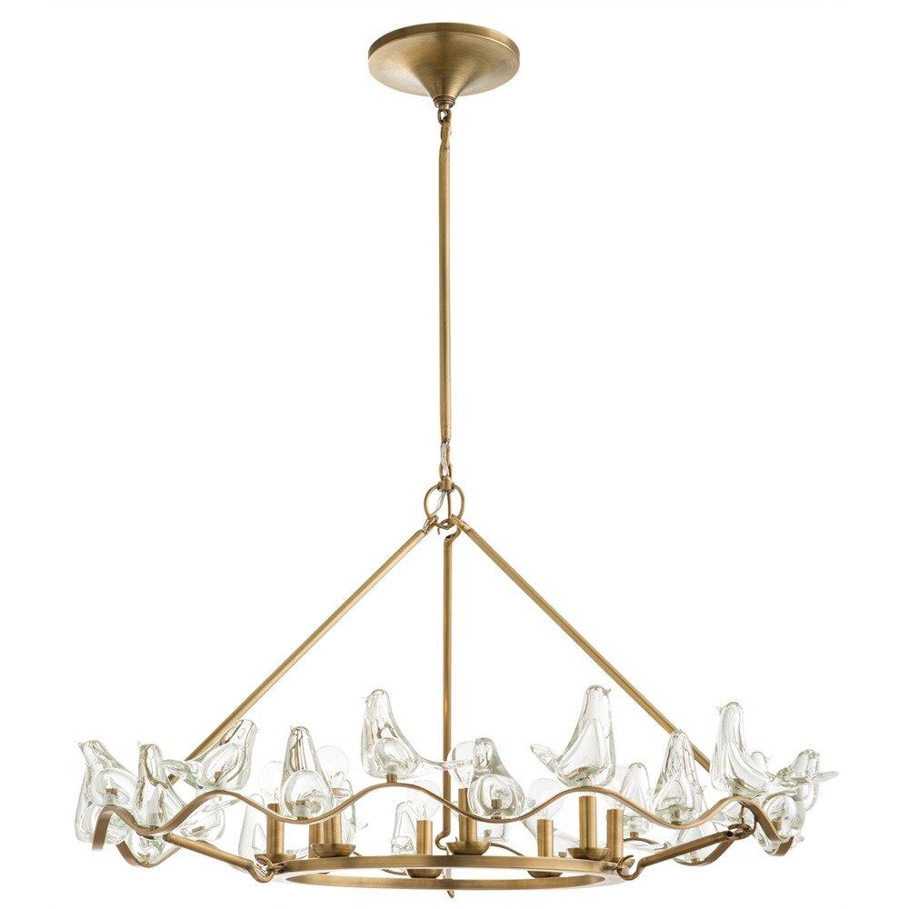 ARTERIORS Home Dove 8 Light Mini Chandelier & Reviews