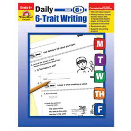 daily 6 trait writing Daily 6-trait writing, grade 5 [evan moor] on amazoncom free shipping on qualifying offers the evan-moor daily 6-trait writing workbook for grade 5 provides a.