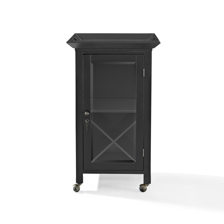 Crosley Jefferson Portable Bar Cabinet Amp Reviews Wayfair