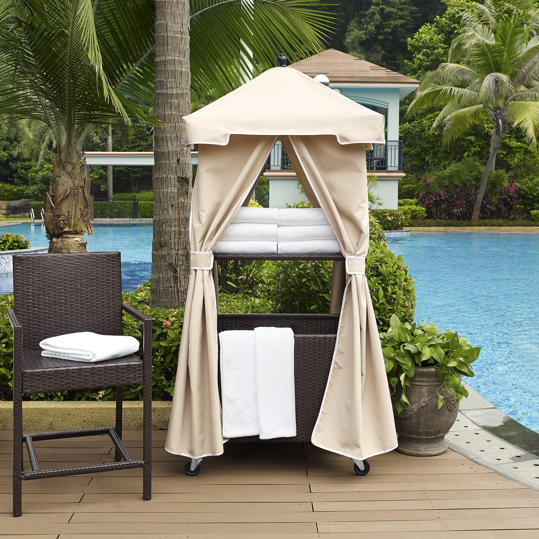 Crosley Palm Harbor Towel Valet Amp Reviews Wayfair