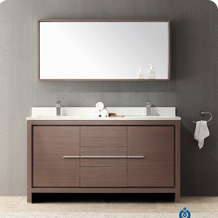 Modern Sink Vanity : Fresca Allier 60