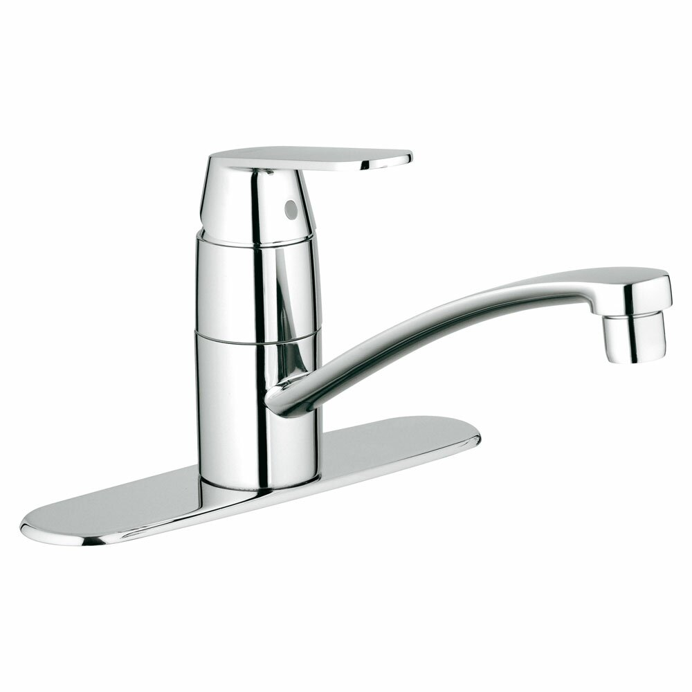 grohe eurosmart single handle single hole standard kitchen grohe 32951000 k7 review kitchen faucet reviews