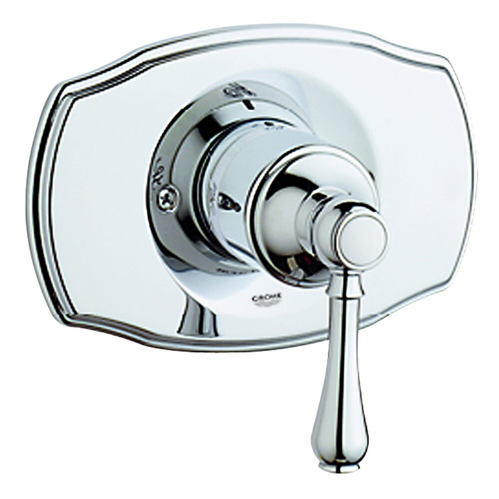 grohe geneva pressure balance faucet shower faucet trim only with