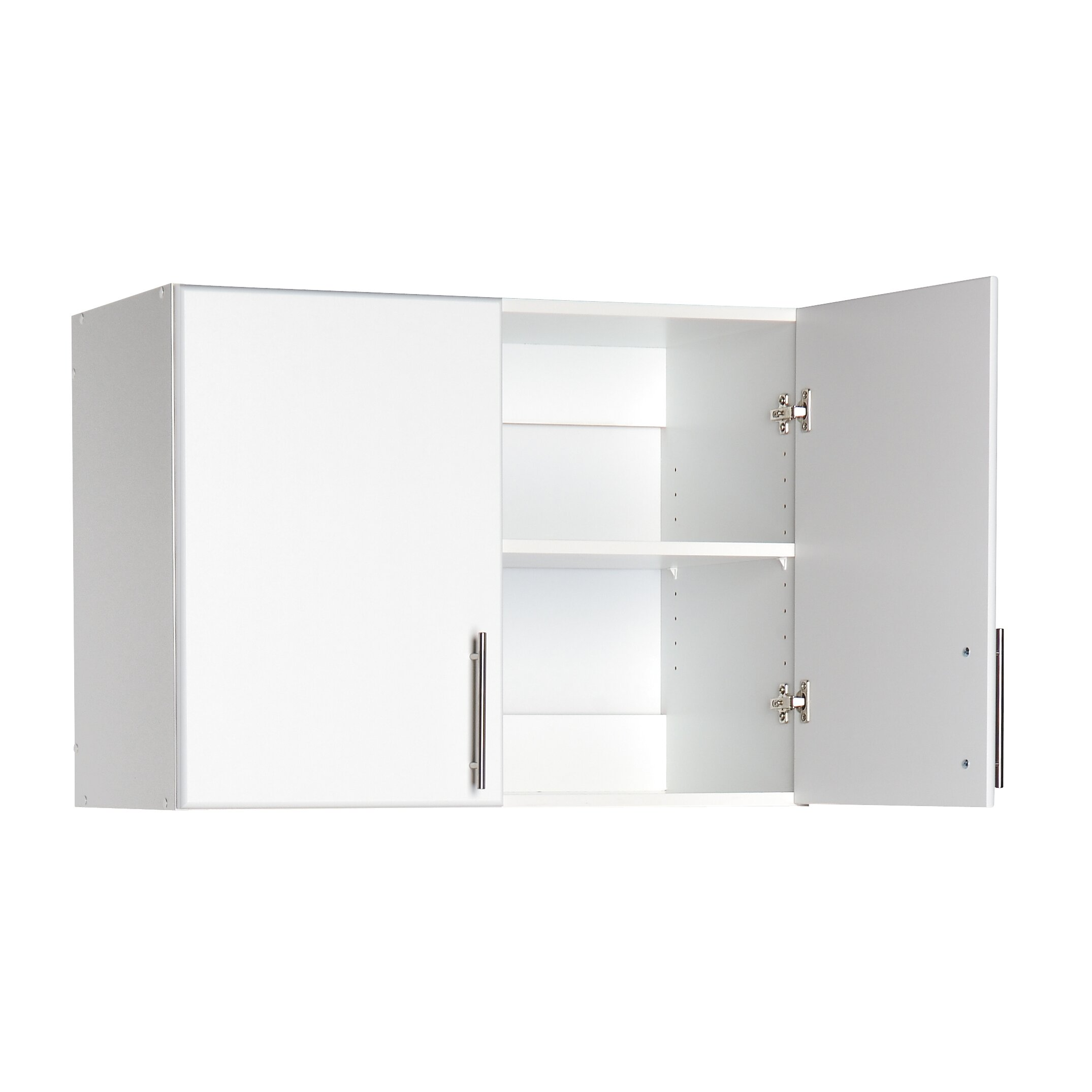 white laundry room wall cabinets