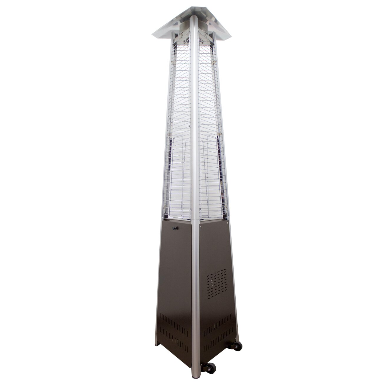 AZ Patio Heaters Natural Gas Patio Heater & Reviews