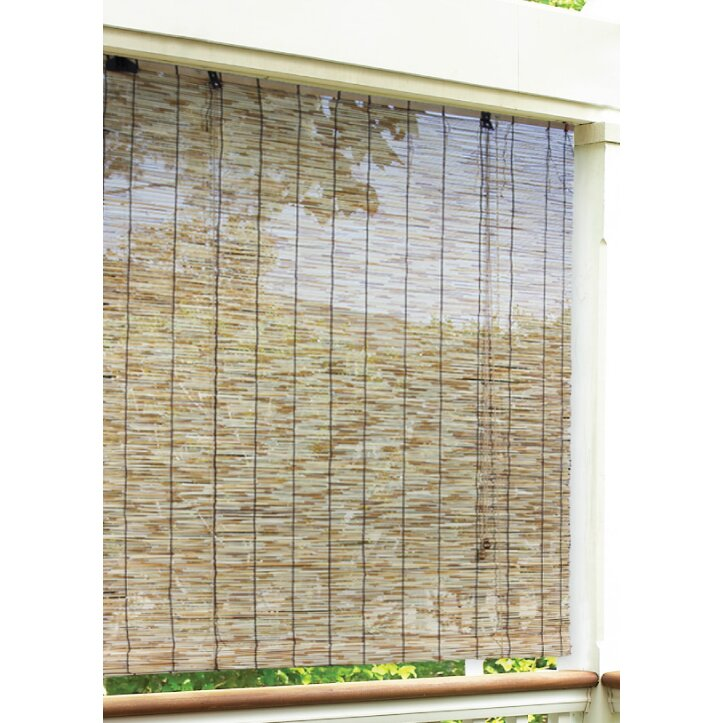 radiance radiance outdoor natural reed blind roll up shade reviews
