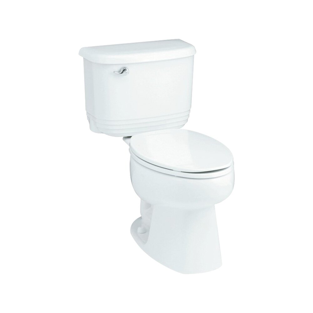 Riverton ADA 1.6 GPF Elongated 2 Piece Toilet by Sterling by Kohler