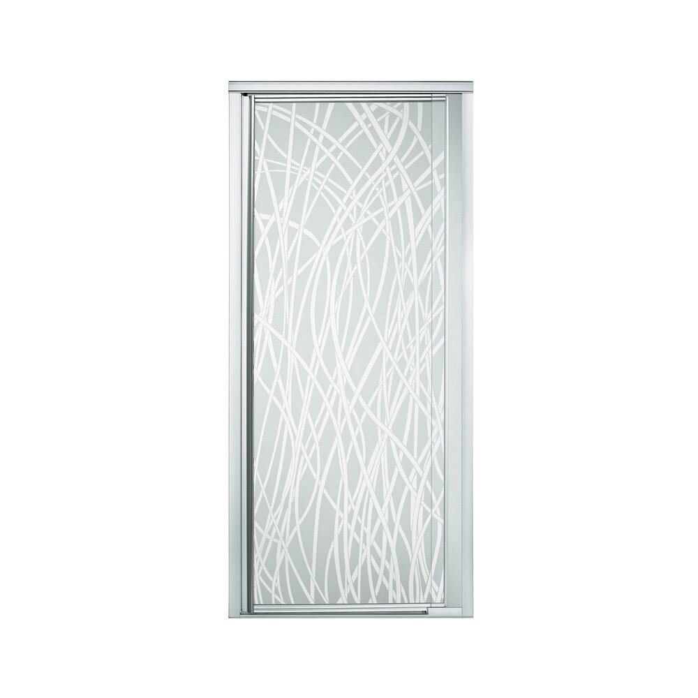 """Kohler Sterling Sliding Shower Doors: Sterling By Kohler Vista Pivot II 65.5"""" X 42"""" Pivot Shower"""